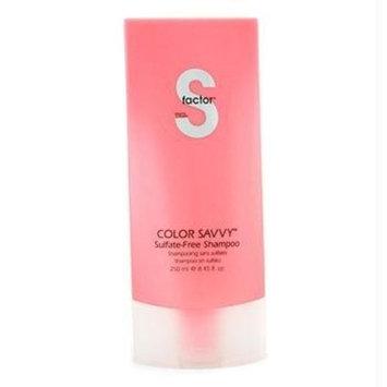 TIGI S-Factor Color Savvy Sulfate-Free Shampoo 8.45 oz
