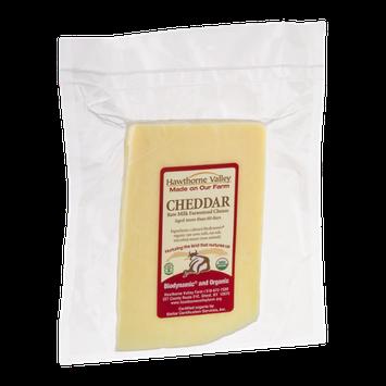Hawthorne Valley Raw Milk Farmstead Cheese Cheddar