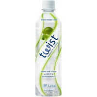 Twist Lightly Flavored Water, West Indies Lime, 19-Ounce Bottles (Pack of 12)
