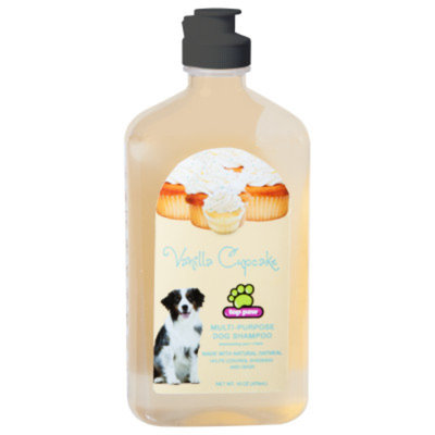 Top Paw Vanilla Cupcake Multi-Purpose Dog Shampoo