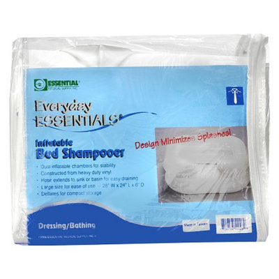 Essential Medical Everyday Essentials Inflatable Bed Shampooer