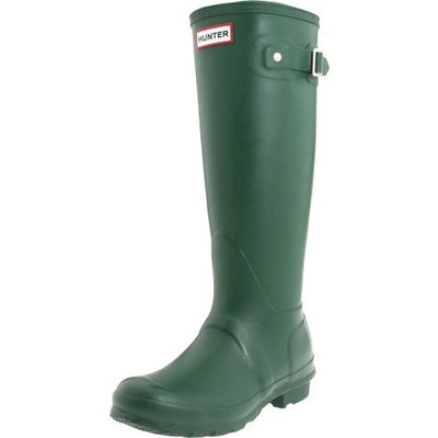 Hunter Original Tall Welly Boot [Navy, 5 B(M) US]