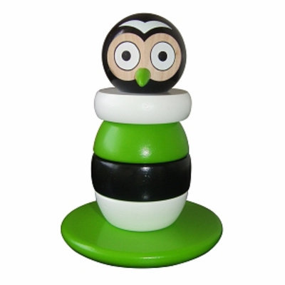 Discoveroo Magnetic Wooden Stacking Owl Ages 18 Months+, 1 ea