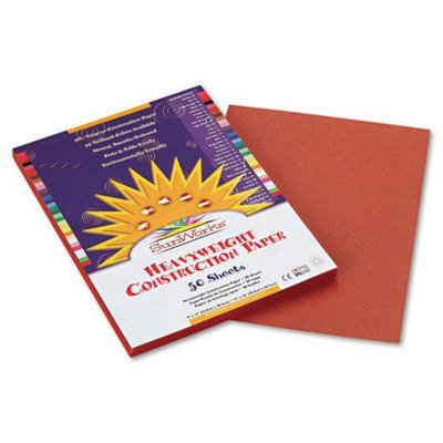 Sunworks SunWorks Construction Paper, 58 lbs, 9 x 12, Brown, 50 Sheets/Pack
