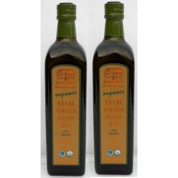 MontePollino Monte Pollino Organic Extra Virgin Olive Oil, 2x0.75 Liter
