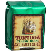 Tortuga Classic Blend Gourmet Ground Coffee, 8-Ounce Bags (Pack of 4)