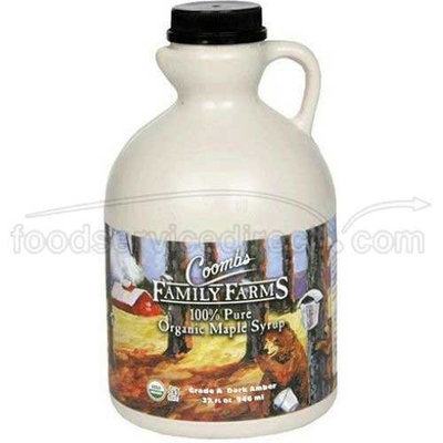 Coombs Family Farms Organic Maple Syrup - Jug, 32 Ounce -- 6 per case.