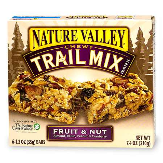 Nature Valley, Chewy Trail Mix, Fruit & Nut