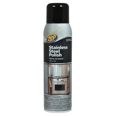 ZEP Cleaning Products 14 oz. Stainless Steel Polish (12-Pack) ZUSSTL14