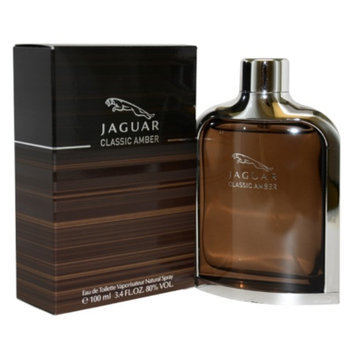 Jaguar Classic Amber Eau de Toilette Spray, 3.4 fl oz