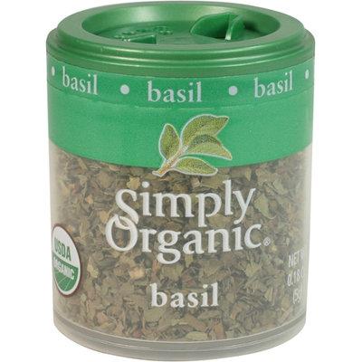 Simply Organic Certified Organic Basil Leaf Sweet C/S