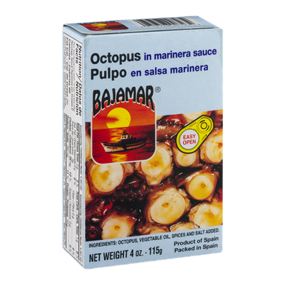 Bajamar Pulpo Octopus in Marinera Sauce