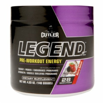 Cutler Nutrition LEGEND JC(tm) - Berry Splash