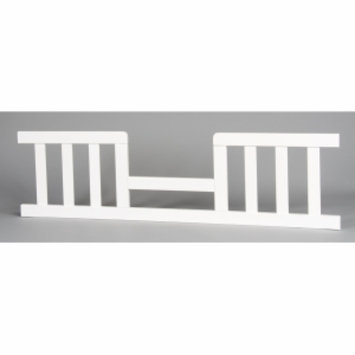 Child Craft Toddler Guard Rail for Logan Stationary Crib, Matte White, 1 ea