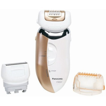 Panasonic ES2045D Rechargable Wet/Dry Epilator with Shin Protector, Sienna
