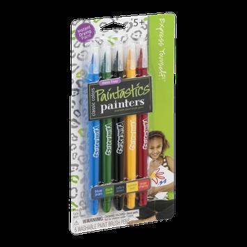 Painters Paintastics Washable Paint Brush Pens Classic Colors - 5 CT