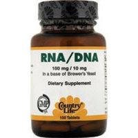 Country Life RNA DNA -- 100 Tablets