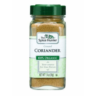 The Spice Hunter Coriander, Ground, Organic, 1.4-Ounce Jars (Pack of 6)