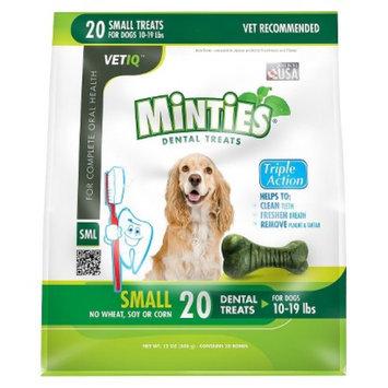 VetIQ Minties Dental Bone Pet Treat for Dogs - 12 Oz (S)