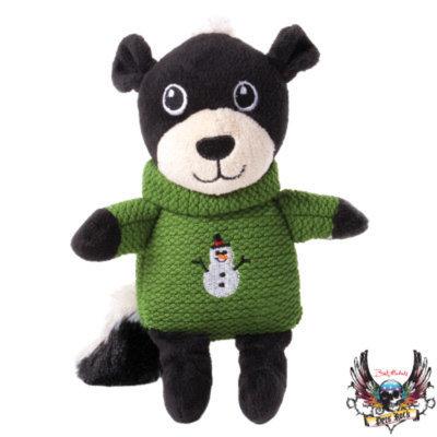 Bret Michaels Pets RockTM Skunk Sweater Dog Toy