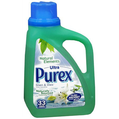 Ultra Purex Natural Elements Laundry Detergent Liquid