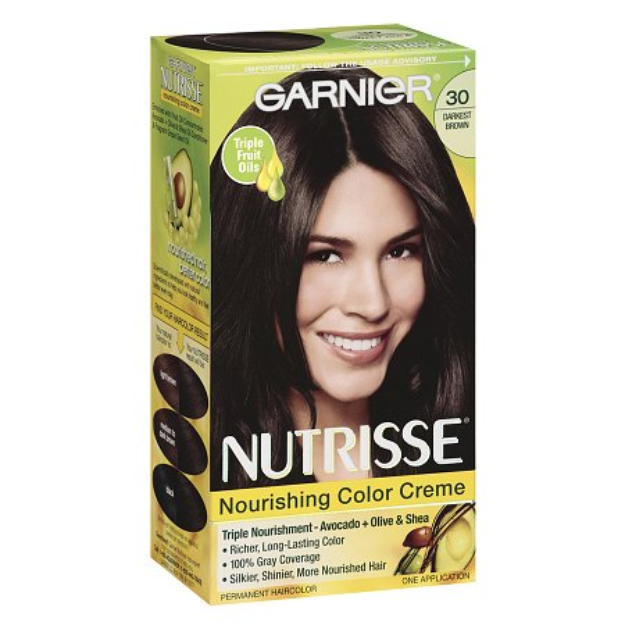 Garnier Nutrisse Nourishing Color Creme with Fruit Oil Concentrate