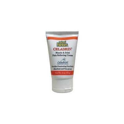 Natural Factors Celadrin Muscle & Joint Pain Relief Cream, 2 oz