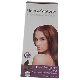 Tints Of Nature - Semi-Permanent Hair Color Copper Red - 3 oz.