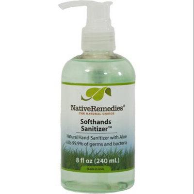 Native Remedies Softhands Sanitizer, 8 Fl Oz
