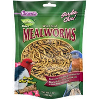 F.M.BROWN'S F.M. Brown's Garden Chic Mealworms, 7-Ounce