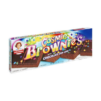 Little Debbie Chocolate Chip Candy Cosmic Brownies - 12 CT