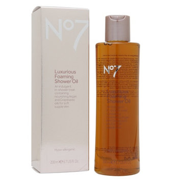 Boots No7 Luxurious Foaming Shower Oil
