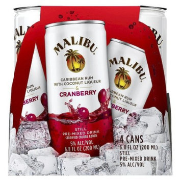MALIBU Malibu Caribbean Rum with Coconut Liqueur & Cranberry Still Pre-Mixed