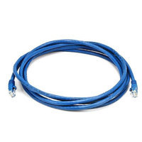 Monoprice 10FT 24AWG Cat6 550MHz UTP Bare Copper Ethernet Network Cable - Blue