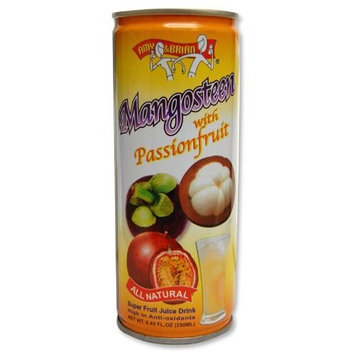 Amy & Brian Mangosteen with Passion Fruit Juice, 8.45-Ounce (Pack of 12)