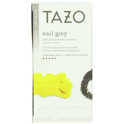 Tazo Earl Grey Filter Bag Tea, 24-Count Packages (Pack of 6)