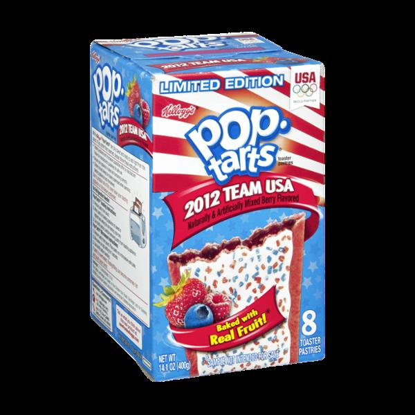 Kellogg's Pop-Tarts 2012 Team USA Mix Berry Toaster Pastries
