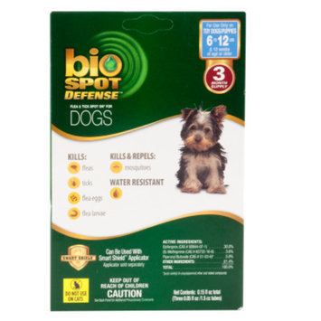 Bio Spot Defense Flea & Tick Spot On Dog Treatment Refill