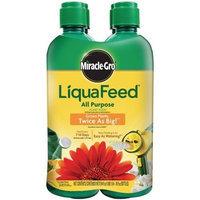 Miracle-Gro LiquaFeed All Purpose Plant Food Refill Pack, (Liquid Plant Fertilizer) 16 oz.. 4 Count
