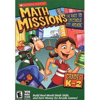 Scholastic 216074 Math Missions- The Race to Spectacle City Arcade -Grades K-2
