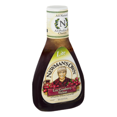 Newman's Own Lite Cranberry Walnut Dressing