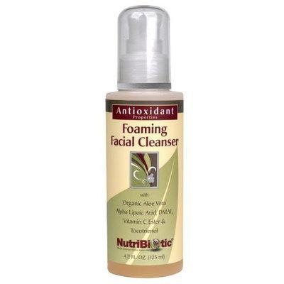 Nutribiotic - Foaming Facial Cleanser, 4.2 oz liquid