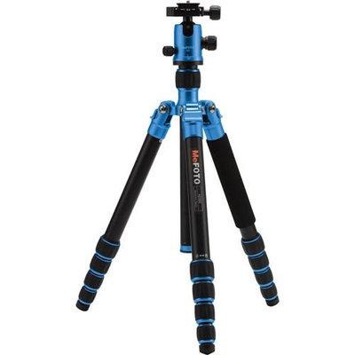 MeFOTO A2350Q2B Aluminum Leg Tube Twist Lock 5 Sections And 12kg Max Load Blue HEC0NK53W-1609