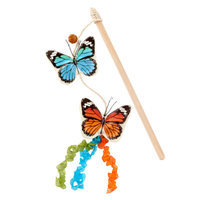 National GeographicTM Butterfly Teaser Cat Toy