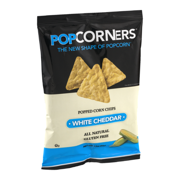 PopCorners Popped Corn Chips White Cheddar