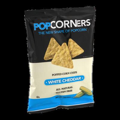 PopCorners Popped Corn Chips White Cheddar
