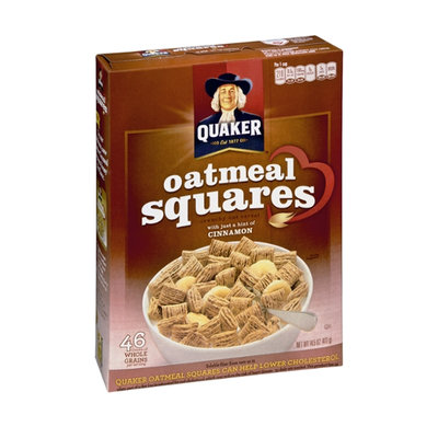 Quaker Crunchy Oat Cereal Oatmeal Squares