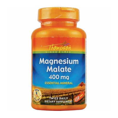 Thompson Nutritional Thompson Magnesium Malate 400 mg 120 Tablets