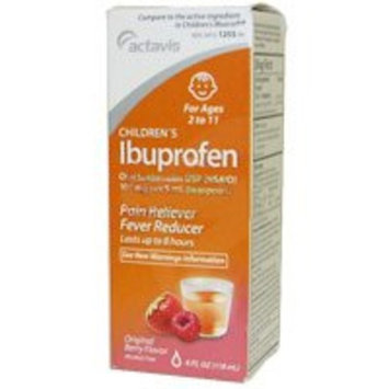 Ibuprofen childrens oral suspension usp 100 mg, original berry flavor - 4 oz