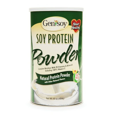 GeniSoy Natural Soy Protein Powder
